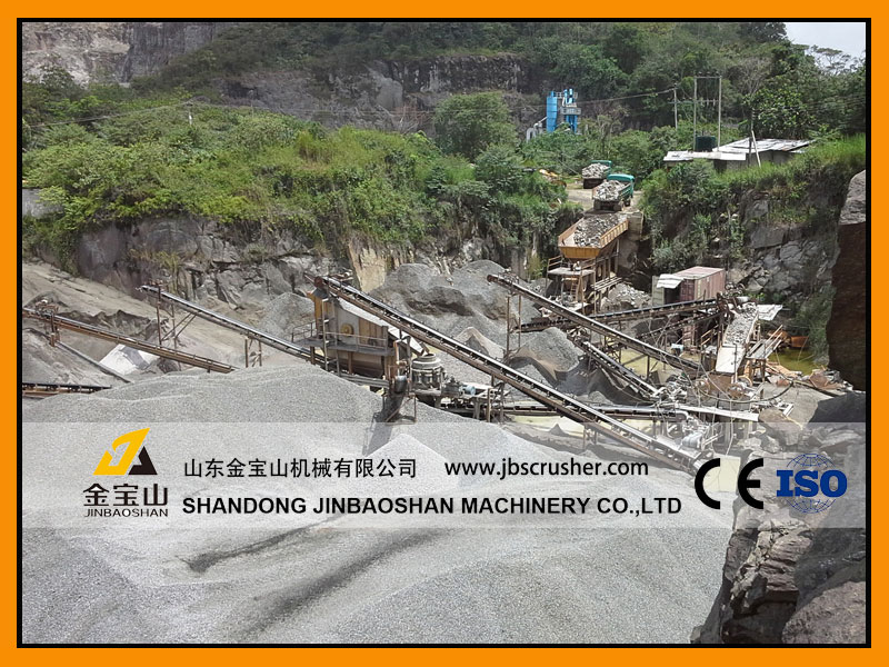 JBS 250tph Granite Crushing Plant in Chile