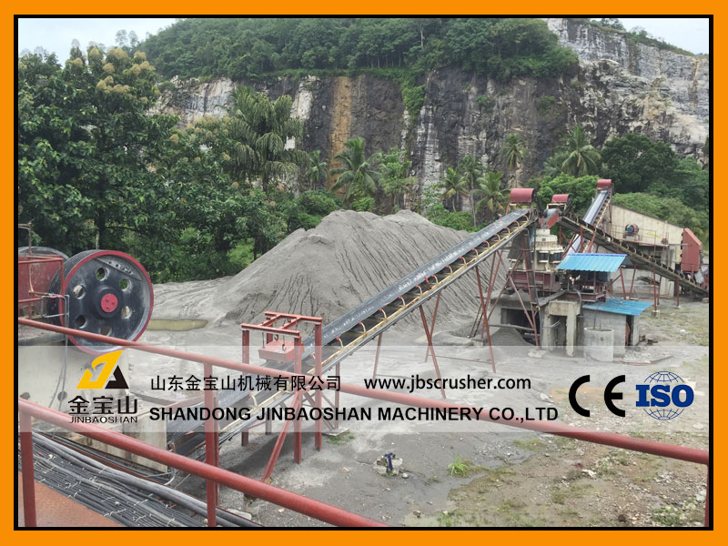 JBS 150tph River stone crushing plant in Bangladesh