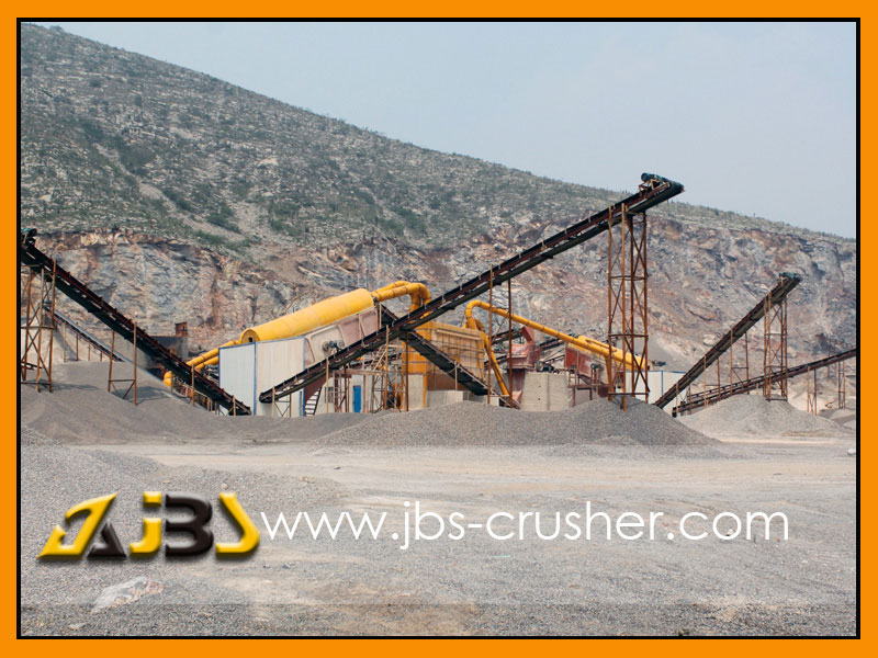 JBS 500tph Granite crushing plant in Sri-Lanka
