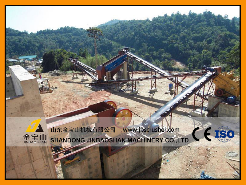 JBS 120tph Limestone crushing plant in Philippines