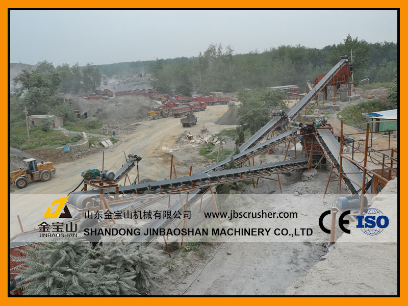 JBS 180tph Marble Crushing Plant in China